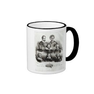 Famous Authors, 1833 Ringer Mug