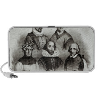 Famous Authors 1833 Notebook Speaker