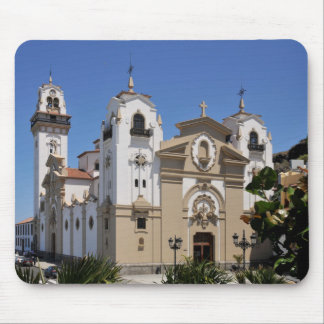 Famous basilica of Candelaria at Tenerife Mouse Pad