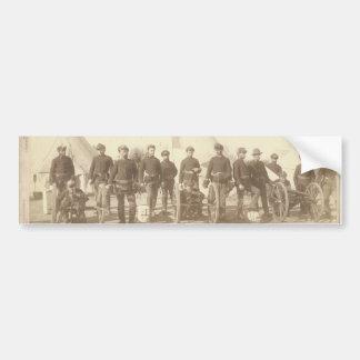 Famous Battery E 1st Artillery & 3 Hotchkiss Guns Bumper Sticker