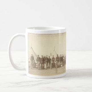 Famous Battery E 1st Artillery & 3 Hotchkiss Guns Classic White Coffee Mug