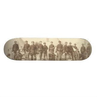 Famous Battery E 1st Artillery & 3 Hotchkiss Guns Skate Board Deck