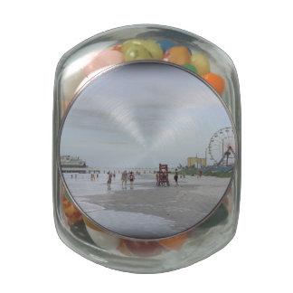 Famous Beach Glass Jars