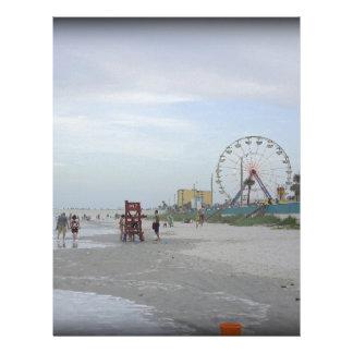 Famous Beach Letterhead Design