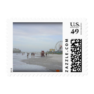 Famous Beach Postage