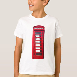 Famous British red telephone booth box T-Shirt