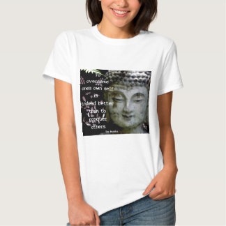 Famous Buddha Quotes Tee Shirt