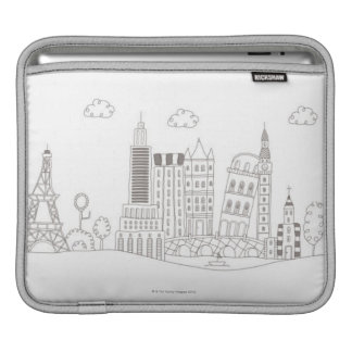 Famous Buildings iPad Sleeve