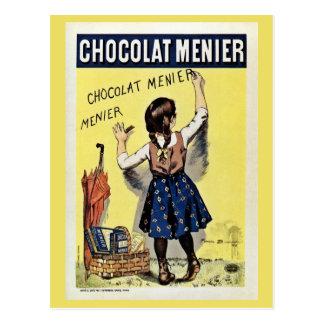 Famous Chocolat Menier vintage poster Postcards