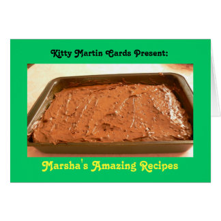 Famous Chocolate Cake Card