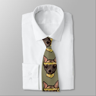 FAMOUS CLIFF- SOLDIER NECK TIE