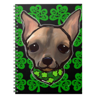 FAMOUS CLIFF - ST. PATTY NOTEBOOK