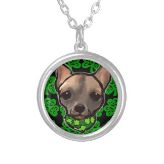 FAMOUS CLIFF - ST. PATTY SILVER PLATED NECKLACE