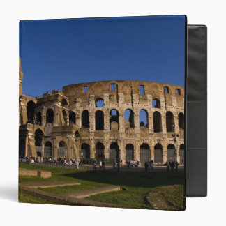 Famous Colosseum in Rome Italy Landmark 2 3 Ring Binders