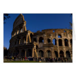 Famous Colosseum in Rome Italy Landmark Greeting Card