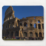 Famous Colosseum in Rome Italy Landmark Mouse Pad