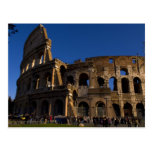 Famous Colosseum in Rome Italy Landmark Postcard