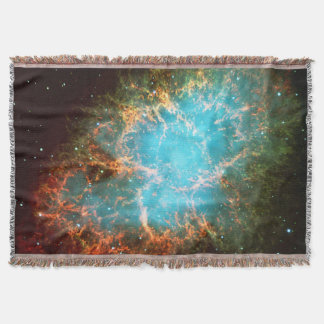 Famous Crab Nebula in Taurus Throw