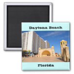 famous daytona beach florida fridge magnet