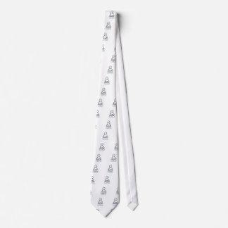 Famous discharge words neck tie