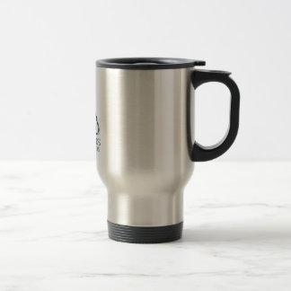 Famous discharge words travel mug