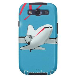 Famous Douglas DC3 aircraft Galaxy SIII Case
