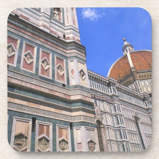 Famous Doumo Church close-up in Florence, Italy Drink Coaster