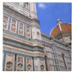 Famous Doumo Church close-up in Florence, Italy Ceramic Tiles