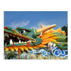 Famous Dragon at Haw Par Villa in Singapore Asia Postcard
