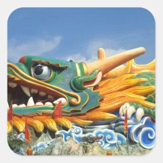 Famous Dragon at Haw Par Villa in Singapore Asia Square Sticker