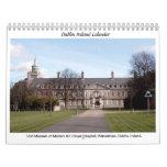 Famous Dublin Ireland landmarks Calendar
