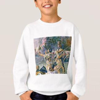 famous explorers and squaw sweatshirt