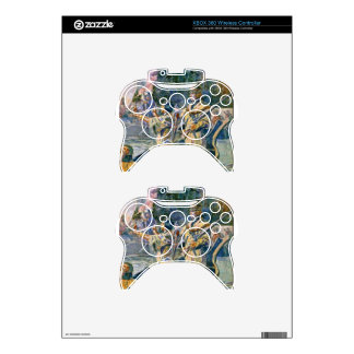 famous explorers and squaw xbox 360 controller decal