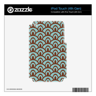 Famous Fair Classical Hard-Working iPod Touch 4G Skins