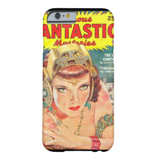 Famous Fantastic Mysteries 1944-12 0001_Pulp Art Barely There iPhone 6 Case