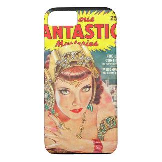 Famous Fantastic Mysteries 1944-12 0001_Pulp Art iPhone 7 Case