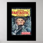 Famous Fantastic Mysteries 45-09 v06n06_Pulp Art Poster