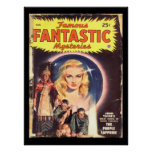 Famous Fantastic Mysteries 48-08 v09n06_Pulp Art Poster