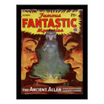Famous Fantastic Mysteries v07 n01 000_Pulp Art Poster