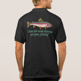 Famous Fishing Quote Polo Shirt