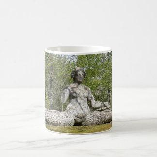 Famous Fishy Femme Fatale Scots Sea Siren Statue.. Classic White Coffee Mug