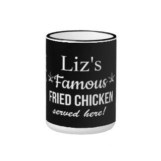 """Famous Fried Chicken"" Coffee Mug"