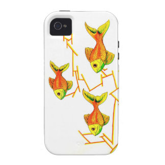 Famous Goldfish School iPhone 4/4S Cover