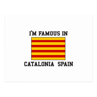 Famous In Catalonia Spain Postcard