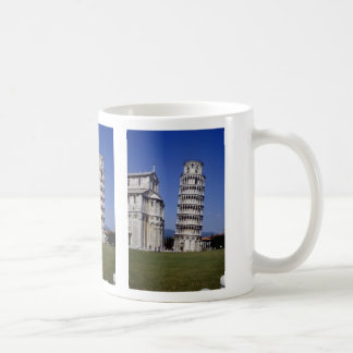 Famous inclined bell tower the Leaning Tower of P Mugs