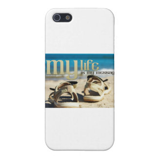 Famous Inspirational Quote by Ghandi iPhone SE/5/5s Cover