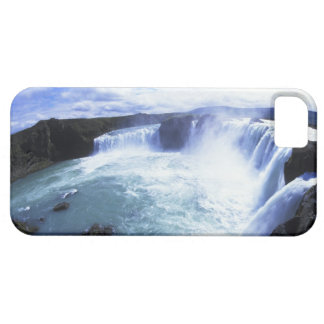 Famous Jodafoss Falls in North Central Iceland iPhone 5 Cover