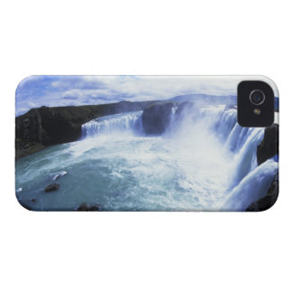 Famous Jodafoss Falls in North Central Iceland iPhone 4 Case