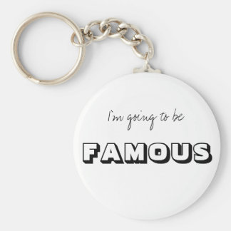 FAMOUS KEYCHAIN