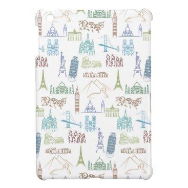 Famous Landmarks Pattern Case For The iPad Mini